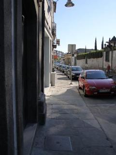 Street view looking down
