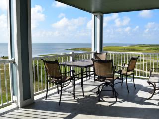 3 Bedroom's Balcony with View of Bay and Marsh