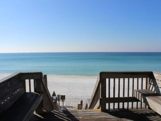 Beach side of 30A with  super easy beach access!