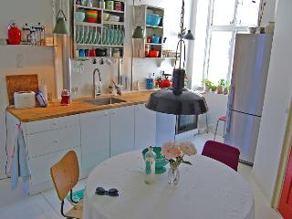 Cosy Copenhagen apartment view of Christianshavn Canal