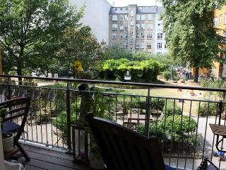 Large Copenhagen apartment in a quiet neighborhood