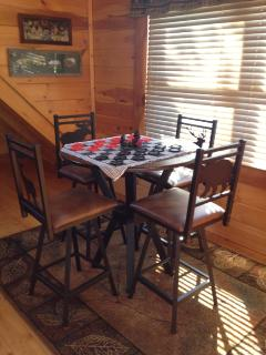 4 top pub table in loft