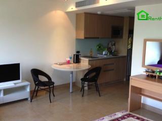 Studio 38 sq.m. in new 5* condo The Cliff Pratamnak ID-602