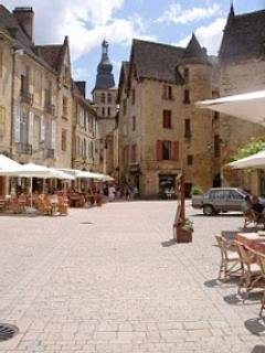 The medieval town of Sarlat, just a short drive away