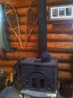 Wood Stove - firewood provided
