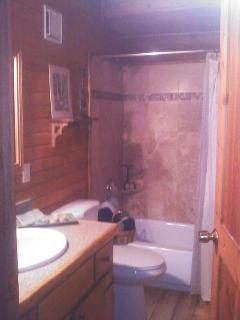 New Remodeled Bathroom downstairs.