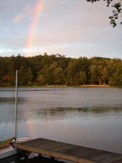 French Pond is the pot of gold at the end of the rainbow!