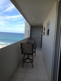 Balcony with Ocean Views off bedrooms