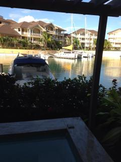 View of Marina from Patio