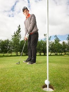 Nine hole golf course