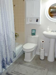 Well stocked washroom - includes linen closet filled with fluffly towels and quality linens