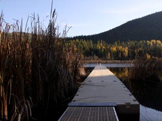 Dock to private lake