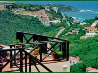 Admirable 2 Bedroom Villa with Private Terrace & Ocean View on Dawn Beach