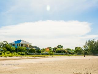 The Villa viewed from the beach
