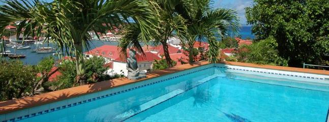 Spectacular 3 Bedroom Villa Overlooking the Harbour of Gustavia