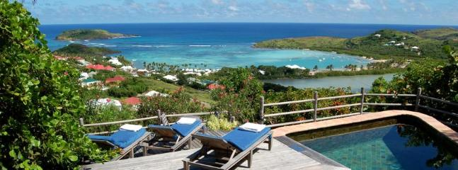 2 Bedroom Villa Overlooking the Grand Cul de Sac Lagoon in Marigot