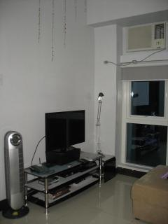 Living Area: 32' LED TV with HD Cable, ionizer stand fan and telephone