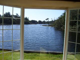 VIEW FROM LIVING ROOM TO LAKE