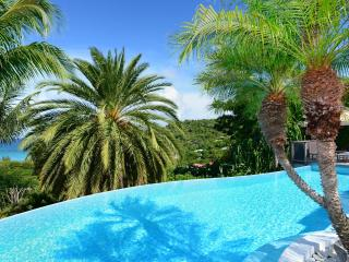 Spacious 4 Bedroom Villa with View of Saint Jean Bay, Saint-Jean