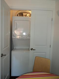Free of charge ensuite washer/dryer