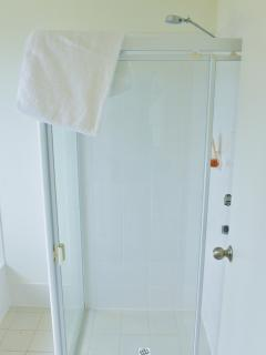 Fresh, Clean Shower with Quality Towels
