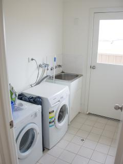 Clothes Washer and Dryer.