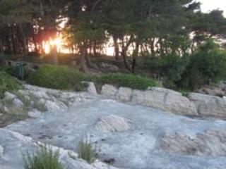 Puntello vicino di Marjan forest park
