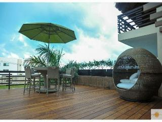Private terrace at day