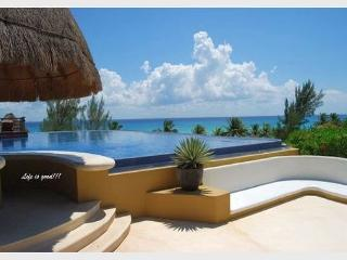 AMAZING PENTHOUSE- PRIVATE POOL!! 14 Steps to Beach, with Panoramic Roof View, Playa del Carmen