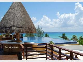 AMAZING PENTHOUSE- PRIVATE POOL!! Steps from Shangrila beach caribbean sea, Playa del Carmen