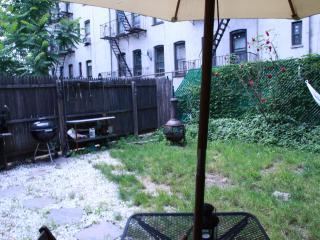 backyard dining