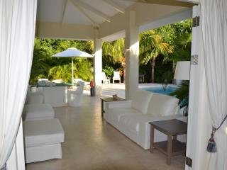 porch directly at your private pool