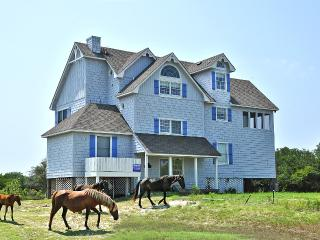 5 Bed Canalfront Wild Horses, Kayaks, Incredible Views, Carova