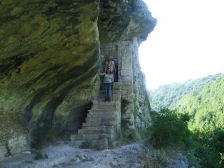 Stone House in Majella National Park Picchio rosso