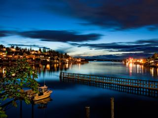 Seattle Waterfront Home en las cerraduras