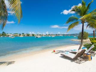 Cozy Cove's beach is powdery and perfect for soaking up the Jamaican sun