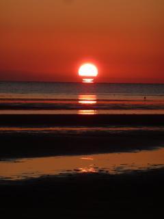 Sunset Campground Beach
