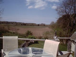 Marsh view over 2nd floor deck