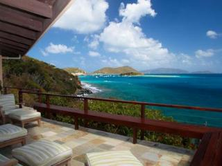 Elegant Waterfront Villa on Private Great Camanoe, British Virgin Islands