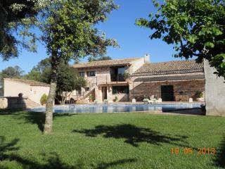 ( finca-villa rural Cas contador )   gran piscina, Algaida
