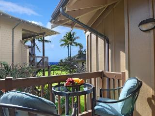 Kaha Lani 216, Beachfront Resort near Kapaa, $1050 per week, 2bdrm/2bath, Ocean Views, 960 sq feet