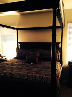 CA King - master bedroom