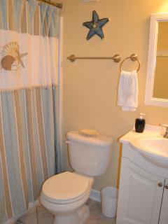 Master Bathroom is a full bathroom on suite.