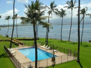 Oceanfront, 2 Bedroom, 2Bath, Great View, Amenities! Maalaea Bay! AC & elevator