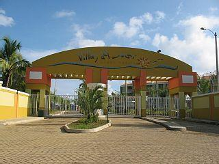 Gated entrance with 24/7 security