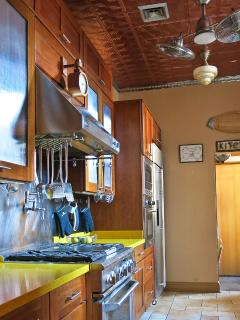 the fabulous chef's favorite kitchen!