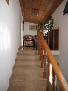stairs to entrace