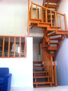 Hand made staircase