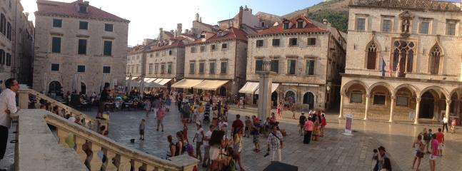 Dubrovnik, the Old town lives 24 hours a day