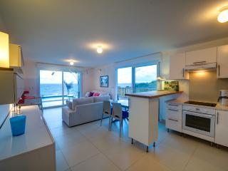 Villa Bleu Matisse: Living room - ocean view